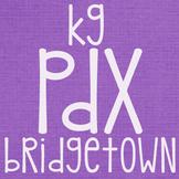 KG PDX Bridgetown Font: Personal Use