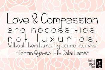 KG Rise UP Font: Personal Use #kindnessnation #weholdthesetruths