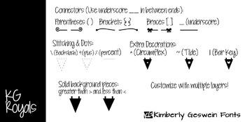 KG Royals Font: Personal Use