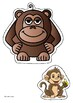 KG STORY 13- THE BIG APE AND THE LITTLE MONKEY (IN MYANMAR)