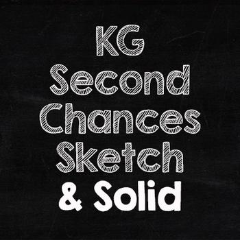 KG Second Chances Font: Personal Use