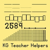 KG Teacher Helpers Font: Personal Use