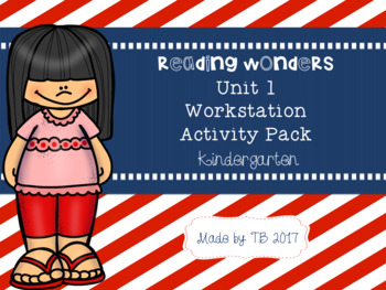 KG Wonders Workstation Activities Unit 1