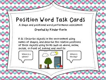 K.G.1 Positional Word Assessment