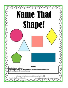 K.G.2 Kindergarten Common Core Worksheets, Activity, and Poster