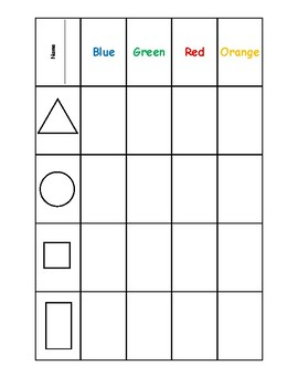 KG2 - Naming Shapes Games and Activities