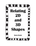 K.G4 Relating 2D and 3D Shapes