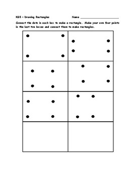 KG5 - Draw and Model Shapes Activities and Worksheets