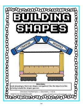 K.G.5 Kindergarten Common Core Worksheets, Activity, and Poster