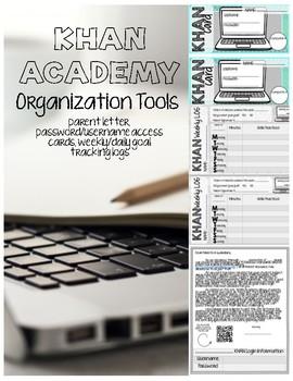 Khan Academy Goal Tracking & Organization Tools
