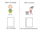 Speech Therapy KID ACTIONS/PRONOUNS Interactive books- (Co