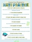 KID FRIENDLY Common Core Standards for Math Practice!