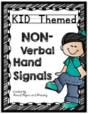 KID THEMED HAND SIGNALS