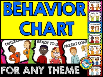 KIDS BEHAVIOR CHART: BACK TO SCHOOL PRINTABLES: KIDS BEHAVIOR CLIP CHART