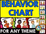 KIDS BEHAVIOR CLIP CHART KINDERGARTEN (BEHAVIOR CHART FOR KINDERGARTEN
