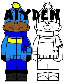 KIDS CLIP ART * AIYDEN