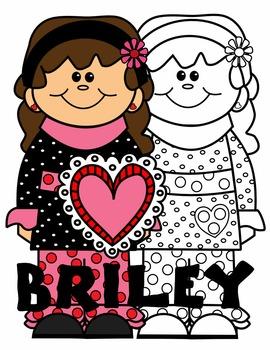KIDS CLIP ART * BRILEY