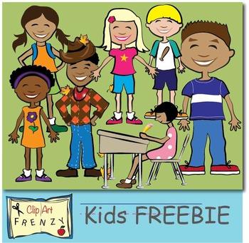 KIDS CLIP ART FREEBIE BY CLIP ART FRENZY!