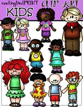 Kids Clipart Set