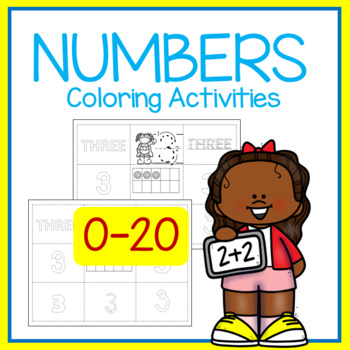 Kids Color Number Posters