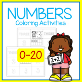 Beginning Coloring Pages of Numbers