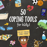 KIDS COPING SKILLS! Stress Management Social Emotional Lesson + SEL Activity