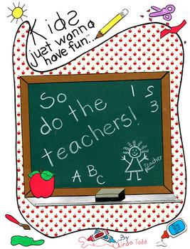 ...so do the teachers!