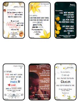 """KIDS """"Pray the Scriptures"""" Cards"""