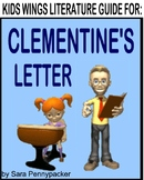 CLEMENTINE'S LETTER!  Writing letters can make a big difference!