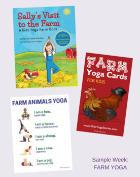 Kids Yoga Summer Camp Bundle