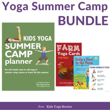 Kids Yoga Summer Camp Bundle By Kids Yoga Stories Tpt