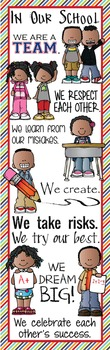 KIDS of COLOR - Classroom Decor: X-LARGE BANNER, In Our School