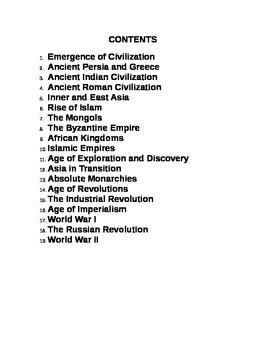 K.I.M. CHARTS:  VOCABULARY STUDY FOR WORLD HISTORY
