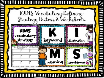 KIMS Poster set & Worksheets