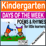 {Days of the Week} {Activities} {Worksheets}