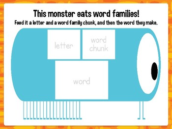 KINDER HIGH FREQUENCY WORD MONSTERS Workstation