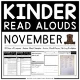 KINDER READ ALOUDS: NOVEMBER