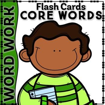 KINDER WORDWORD CORE-WORDS-FLASHCARDS