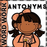 KINDER WORDWORK ANTONYMS