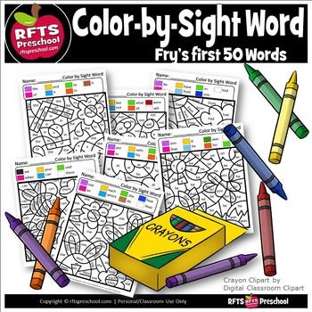 KINDER WORDWORK FIRST 50 COLOR-SIGHT-WORDS