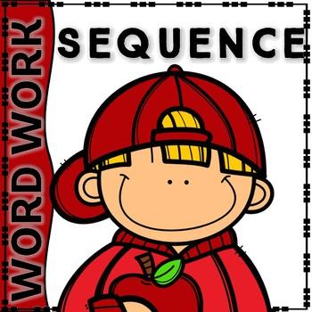 KINDER WORDWORK-SEQUENCING