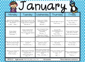 KINDER-WRITING: A Year-Long Calendar of Kindergarten Sight Word Writing Prompts