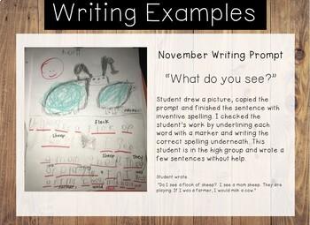 KINDER-WRITING: A Year-Long Calendar of Kindergarten Sight Word Writing Prompts
