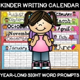 KINDER-WRITING: A Year-Long Calendar of Kindergarten Sight