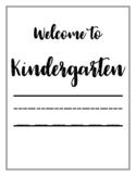 KINDERGARTEN | Bulletin Board Printables | Classroom Organization