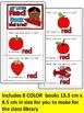 COLOR BOOKS -Color, cut & paste COLOR books (KINDERGARTEN)
