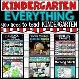 Kindergarten Curriculum All Subjects BUNDLE