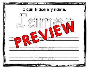 EDITABLE NAME ACTIVITIES KINDERGARTEN (EDITABLE BACK TO SCHOOL ACTIVITY PREK)
