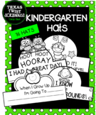 KINDERGARTEN HATS, CROWNS for all school year! {Texas Twist Scribbles}