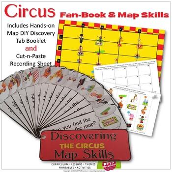 KINDERGARTEN MAP SKILLS - CIRCUS